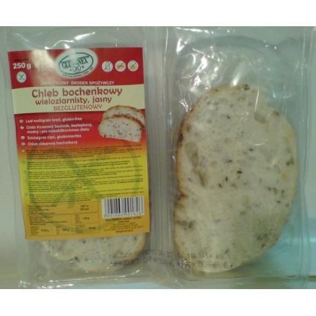 Chléb vícezrnný bochník 250g GLUTENEX