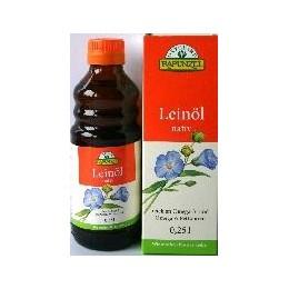 Bio lněný olej za studena lisovaný 250ml RAPUNZEL