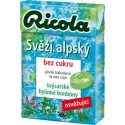 Bonbóny RICOLA Svěží alpský 40g bez cukru