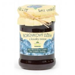 Borůvkový džem bez přidaného cukru 275g Kvasnička