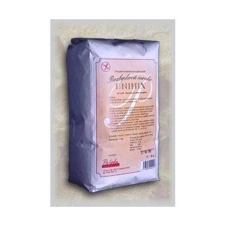 UNIMIX bezlepková mouka 1kg Paleta