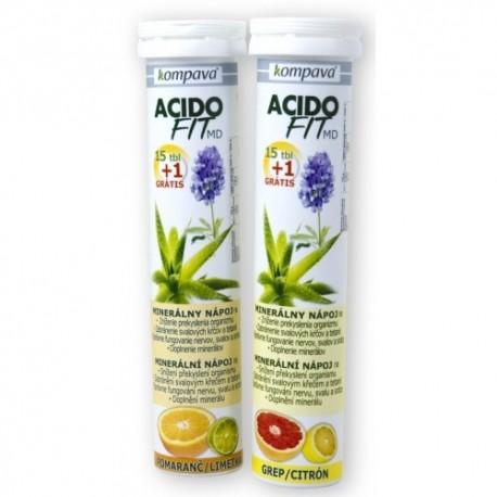 AcidoFit MD pomeranč/limetka 16 tbl.