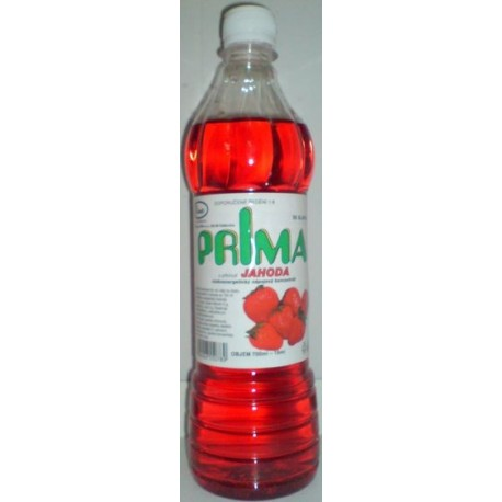 Šťáva – jahodová PRIMA se sladidlem