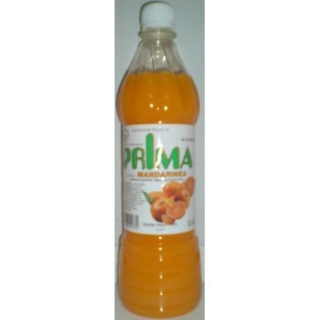 Šťáva – mandarinková PRIMA se sladidlem