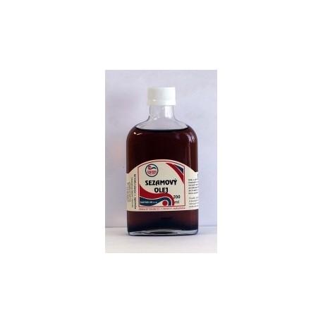 Olej z praženého sezamu 200ml SUNFOOD