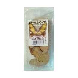 Vanilkové sušenky polomáčené (karob) 140g NATURAL