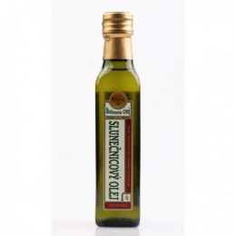 Slunečnicový olej pražený 250ml BO