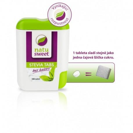 Natusweet STEVIA TABS 18 g (300 tablet)