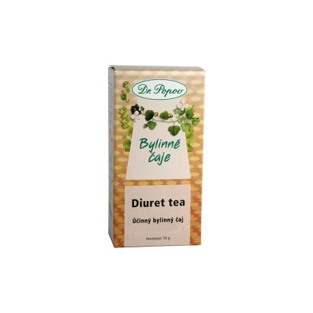 Čaj Diuret tea Dr.Popov 50g MEKKA