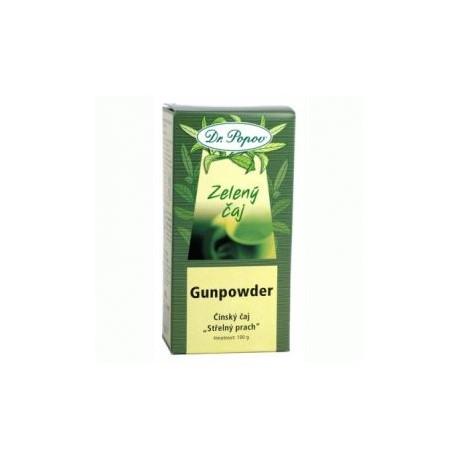 Čaj Gunpowder zelený 100g Dr.Popov