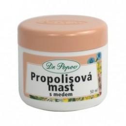 Propolisová mast s medem 50ml Dr.Popov