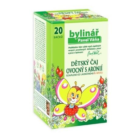 Čaj Váňa Dětský čaj ovocný s aronií 20x1.5g