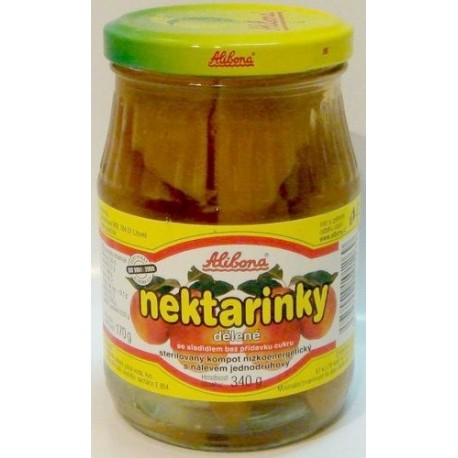 Meruňky – kompot se sladidlem 330g