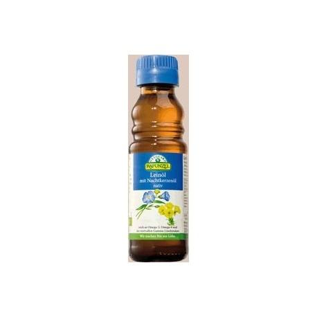 Lněný olej s pupalkovým olejem 100 ml BIO RAPUNZEL