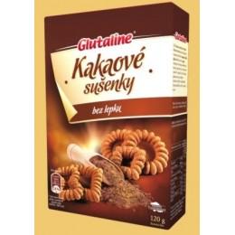 Kakaové sušenky bez lepku 120g Glutaline