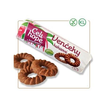 CELI HOPE věnečky kakaové s amarn. 100g