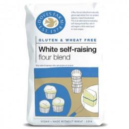 Samokypřící směs bílá bez lepku 1kg DOVES FARM