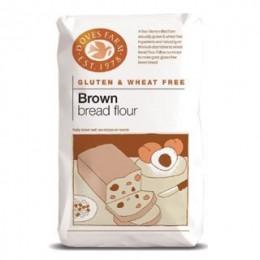 Chlebová směs tmavá bez lepku 1kg DOVES FARM