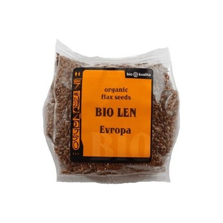 Bio lněné semínko Evropa 200 g BIONEBIO