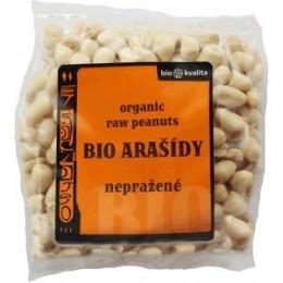 Bio arašídy loupané nepražené 200 g BIONEBIO