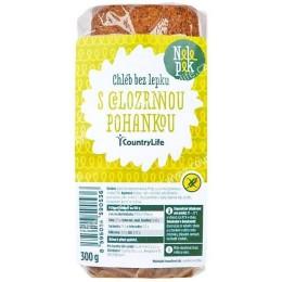 Chléb s pohankou bez lepku 300g NELEPEK
