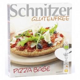 Korpus pizzy s bylinkami bez lepku 300g Bio Schnitzer