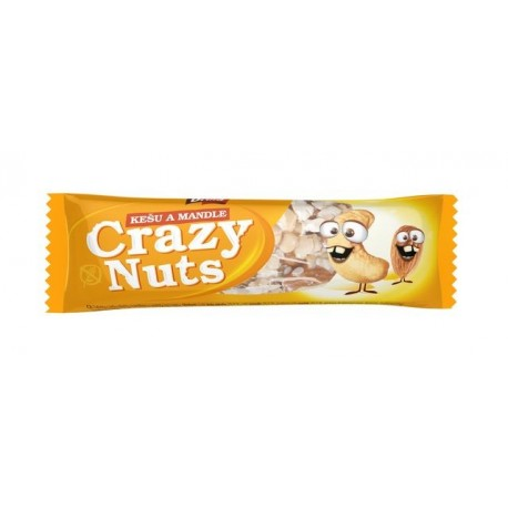 Crazy Nuts – Kešu & Mandle 30g