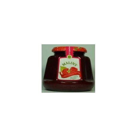 Džem maliny s výtažkem ze stévie sladké 360g