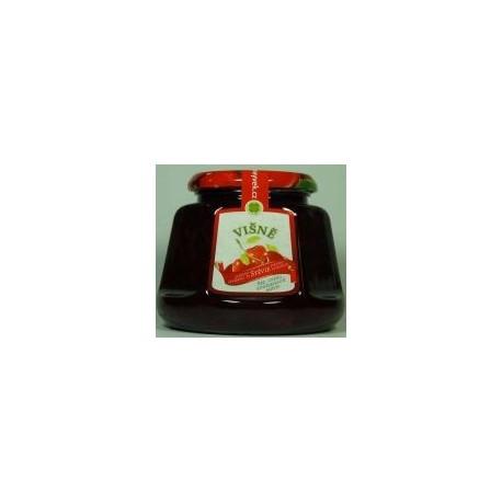 Džem višně s výtažkem ze stévie sladké 360g