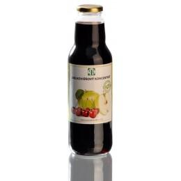 Koncentrát jablko-černý rybíz 750 ml SEVEROFRUKT