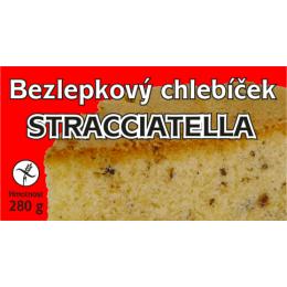 Chlebíček bezl. stracciatella 280g MEDÁNEK