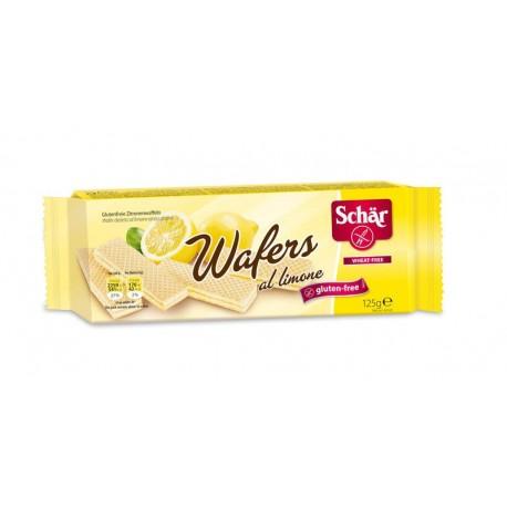 Wafers al limone - CITRÓNOVÉ vafle 125g SCHAR bez lepku