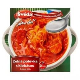 Zelná polévka s klobásou 330g SVEDA
