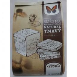 Směs na tmavý bezlepkový chléb 500g NATURAL
