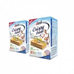 Crispy bread - česnek a cibule 130g POEX
