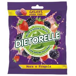 Dietorelle - ostružinové a jahodové želé 70g