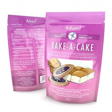 Bezlepková směs na pečení BAKE-A-CAKE 750g Adveni
