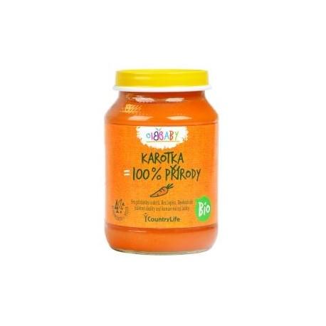 Příkrm mrkev 190 g BIO CL