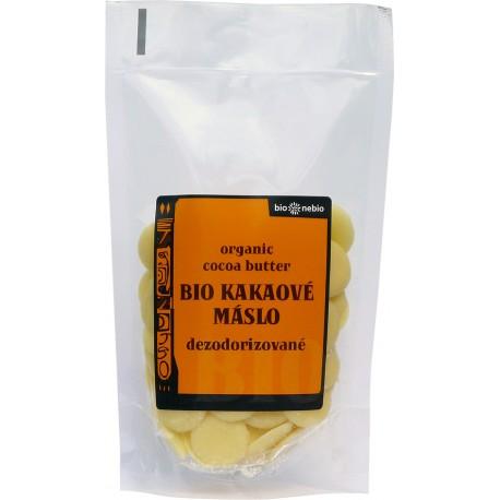 Bio kakaové máslo pecičky 100 g BIONEBIO
