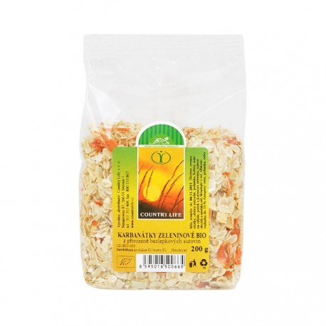 Karbanátky zeleninové Bio CL