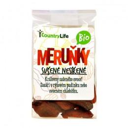 Meruňky sušené nesířené 100g Bio CL
