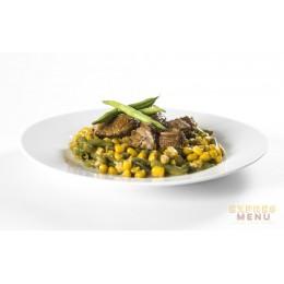 Hovězí maso se zeleninou 1 porce Expres Menu
