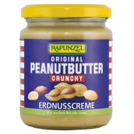 Bio arašídová pomazánka křupavá 250 g Rapunzel
