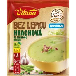 Hrachová polévka se slaninou bez lepku 74g Vitana