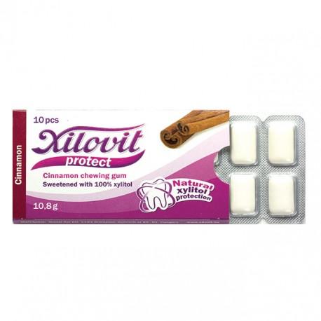XILOVIT PROTECT – skořicová žvýkačka 10 KS