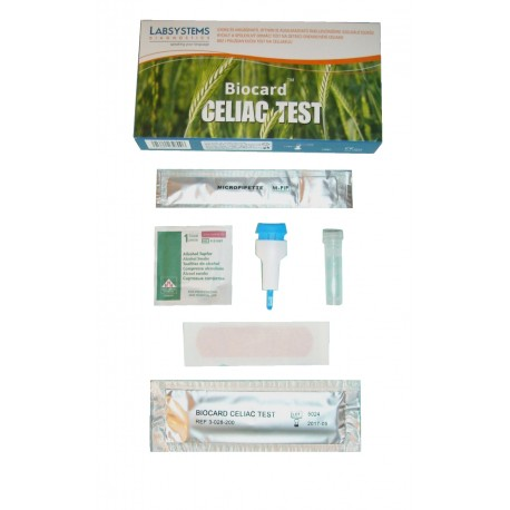 Biocard TM Celiac test