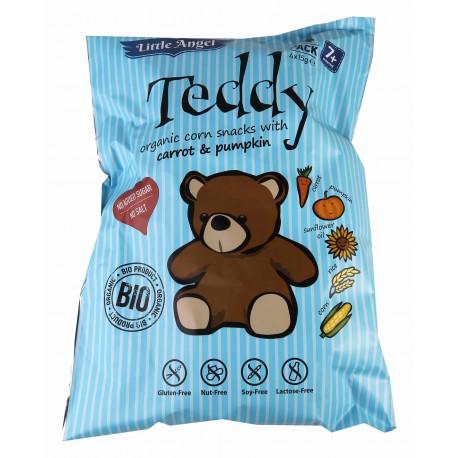 Bezlepkový snack Teddy pro děti 4x15g