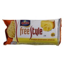 Free style rýž.chlebíčky příchuť sýra 25g RACIO