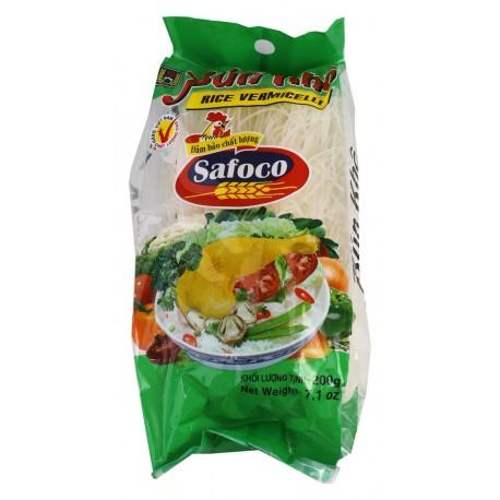 Rýžové těstoviny Vlasové nudle 200g SAFOCO