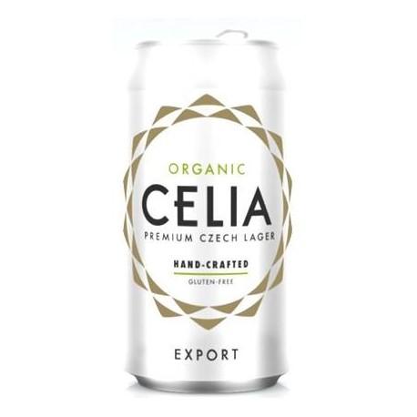 Celia - bezlepkové pivo plech 330 ml